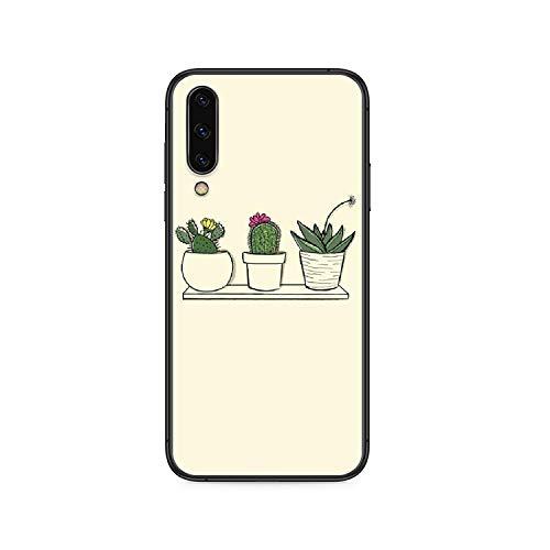 Pintado Refrescante planta de huevo perezoso caso del teléfono para Samsung Galaxy A 5 10 20 3 30 40 50 51 7 70 71 E S 4G 16 17 18 negro shell-5-Galaxy A3 2017
