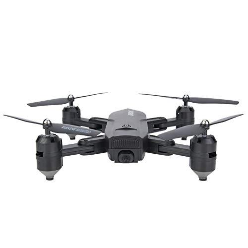 DAUERHAFT Posicionamiento de Flujo óptico RC Drone Quadcopter Plegable para Modelos de Amantes de los Aviones Foto de(4K Wide-Angle Camera)