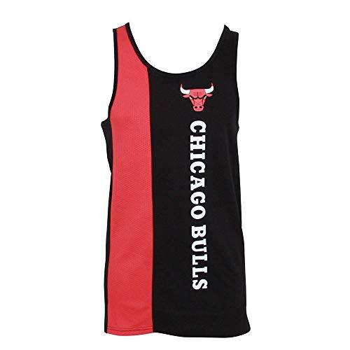 New Era NBA Wordmark Tank T-Shirt T-Shirt ~ Chicago Bulls
