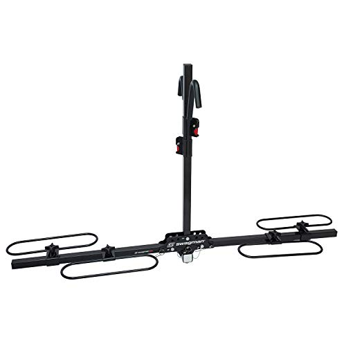 Swagman XC2 Hitch Mount Bike Rack , Black, 2-Inch Receiver