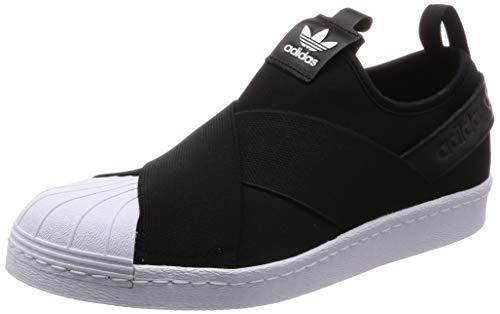 adidas adidas Superstar Slip On Damen Sneaker Schwarz
