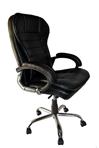Chairsly Office Chair High Back Support Executive Gaming(Black)(1pc)