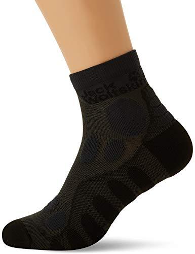 Jack Wolfskin Sandal Classic Cut Socken, Ebony, 41-43