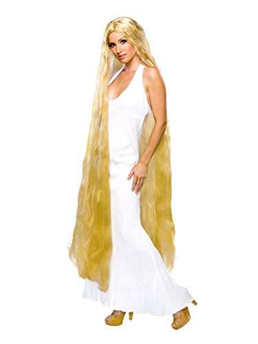 Rubie 's Offizielles Lady Godiva Perücke lang blond Einheitsgröße für Erwachsene