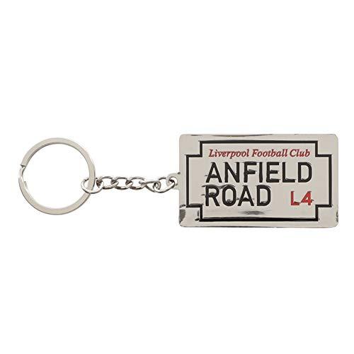 Liverpool FC Street Sign portachiavi ufficiale LFC