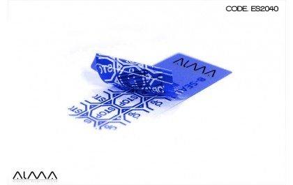 100 Etichette di Sicurezza VOID transfer con rilascio. Materiale indistruttibile. Numerazione progressiva. Garantiscono la sicurezza dei prodotti. Per individuarne violazioni, manipolazioni e furti.