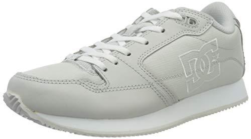 DC Shoes Alias, Zapatillas Mujer, Grey/White, 39 EU