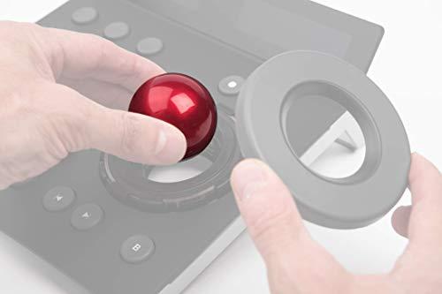 Tangent Ersatz-Trackerball für Wave/Element/Ripple Panel 4,6 cm, Rot, 3 Stück