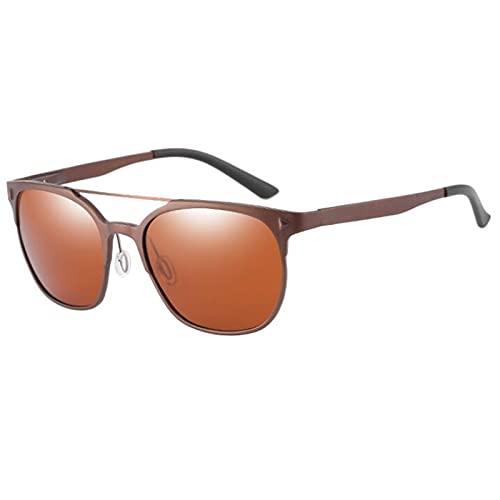 JSJE Gafas de Sol Deportivas polarizadas para Mujeres Hombres Marco Ligero Corriendo y Conducir Gafas de Sol 100% Protección UV AR