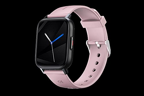 KaiLangDe Smartwatch Touch-Farbdisplay Fitness Armbanduhr mit Pulsuhr Fitness Tracker Wasserdicht Sportuhr Smart Watch mit Schrittzähler Schlafmonitor Stoppuhr für Damen Herren (Color : Pink)