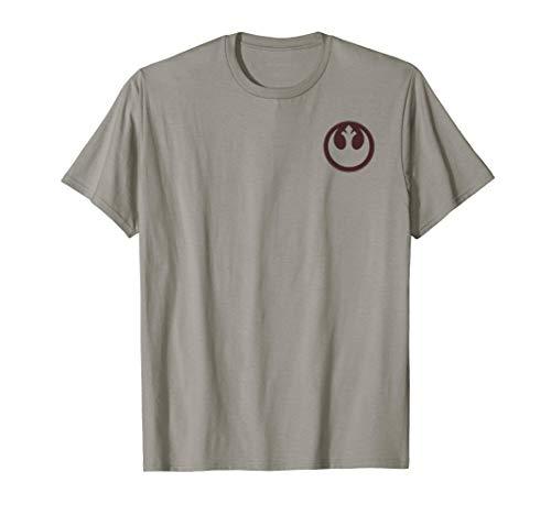 Star Wars Rebellion Silhouette Pocket Logo T-Shirt