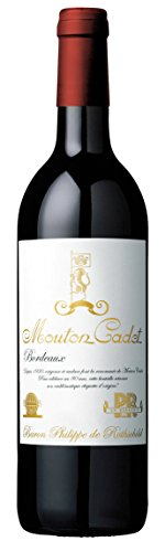 Baron Philippe de Rothschild Mouton Cadet Rouge Bordeaux Vintage 2016 trocken (0,75 L Flaschen)