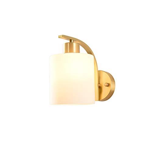 PElight koperen wandlamp – wandlamp voor binnen, voor restaurants, hal, eetkamer, woonkamer (met lichtbron 5 W)