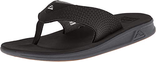 Reef Men's Sandals Rover | Water-Friendly Men's Sandal with Maximum Durability and Comfort | Waterproof | Black | Size 11