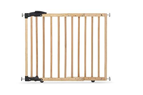 Geuther Grille de Protection pour Porte Fixation par Serrage/Pivot Marron 68-102 cm 3,9 kg, 1 Pièce