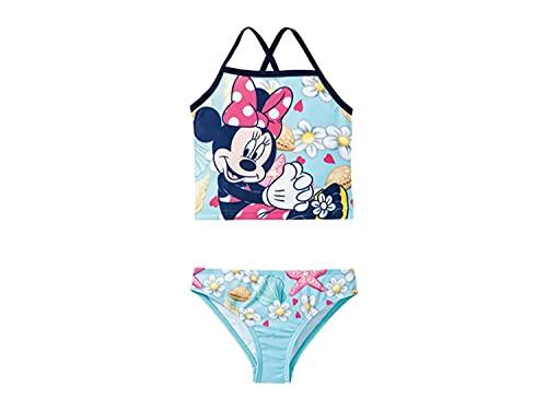 Disney's Minnie Maus Mädchen Badeanzug Kinder Schwimmanzug Tankini Minnie Mouse (134/140)