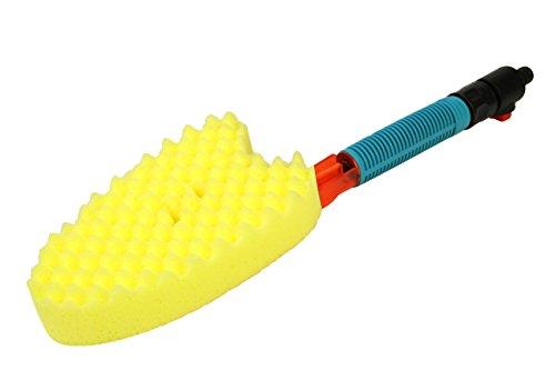 セフティー3 散水お掃除スポンジ ホース直結 ブラシに通水 手元で止水可能 農機具・車洗浄 SSS-1