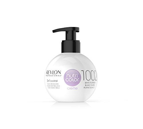 REVLON PROFESSIONAL Nutri Color Creme ,Nr. 1002 White Platinum, 1er Pack (1 x 270 ml)