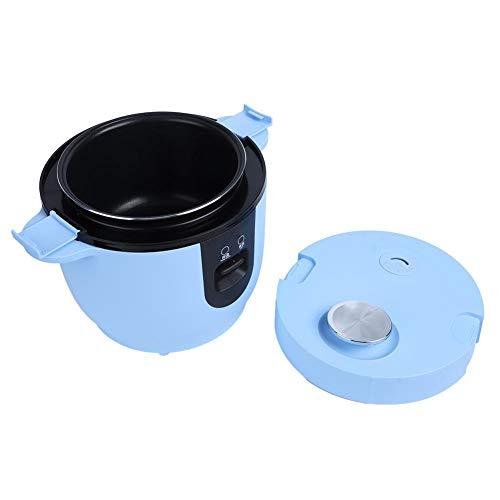2L de gran capacidad olla arrocera eléctrica portátil olla arrocera olla arrocera para coche herramienta para cocinar arroz al aire libre para acampar en coche viajar