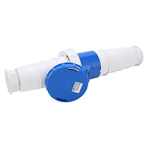 DWMD Enchufe Industrial Jack, práctico Conector Circular para Exteriores de 220-250 V para túneles para aeropuertos