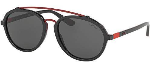 Ralph Lauren POLO 0PH4154 Gafas de sol, Black, 57 para Hombre
