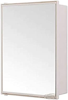 NAVRANG INNOVATIONS NEO Mini Mirror/bathroom Cabinet with shelves, white (12.5 X 17inches)