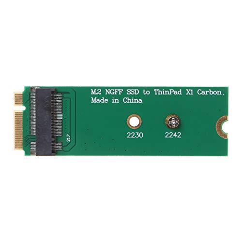 Ontracker Thinkpad NGFF M.2 to X1 Carbon 2013 SSD Solid State Hard Drive Adapter Card