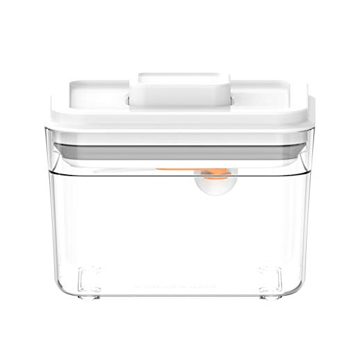 Herewegoo Luchtdichte multifunctionele voedselcontainer vochtbestendige keukenopbergdoos met deksel voor hondenvoeding, melkpoeder, rijst, bonen