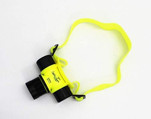 Linterna Frontal Faro de buceo profesional Led/faro anfibio/lámpara de peso ligero