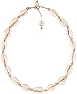 Believe London Natural Shell Necklace Bracelet Anklet Choker Seashell Women Men Statement Adjustable Beads Wakiki Beach Se...
