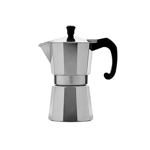 AsiaShopping Moka Espressokocher eine 1Tasse für Caffe 'Espresso Designer Aluminium Neapolitanische