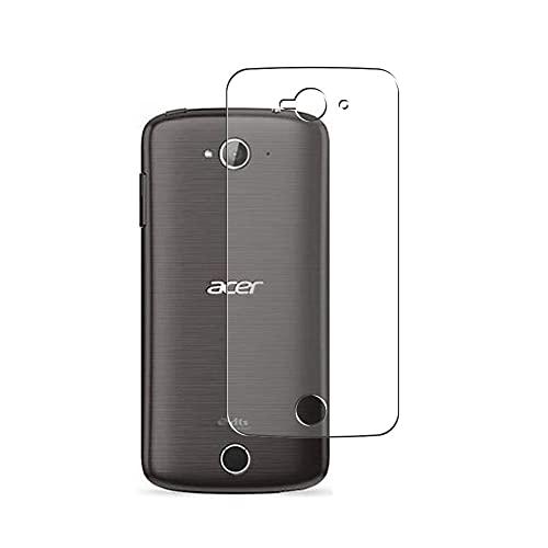Vaxson 2 Stück Rückseite Schutzfolie, kompatibel mit Acer Liquid Z330 M330, Backcover Skin TPU Folie [nicht Panzerglas/nicht Front Bildschirmschutzfolie]