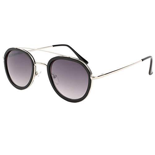 Eye Wear Lunette de soleil a la mode Noire et Argent Leny - Mixte