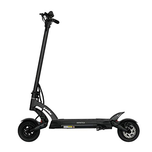 Patinete eléctrico para adulto, patinete eléctrico, patinete para adultos, patinete eléctrico, 25 km/h, gama Mantis Lite, color negro, hasta 120 kg, 800 W