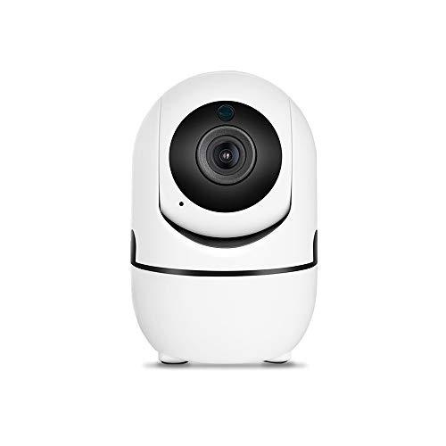 Tuya Smart Life W-iFi Telecamera1080P,IP videocamera sorveglianza interno Pan/Tilt, AI alert audio bi-direzionale Monitor (Camera nly)