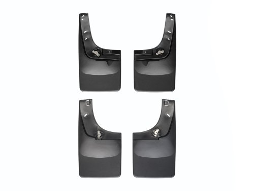 Weathertech 110035-120035 No-Drill DigitalFit MudFlap Kit Chevrolet Silverado w/o Fender Flares