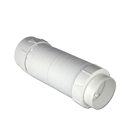 Set de tuyau d'évacuation d'air - 2 m - PVC