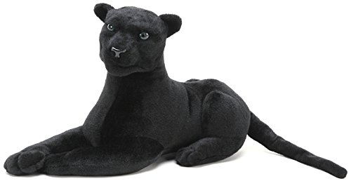 VIAHART Sid The Panther | 17 Inch (Tail Measurement Not Included!) Stuffed Animal Plush Cat | by Tiger Tale Toys