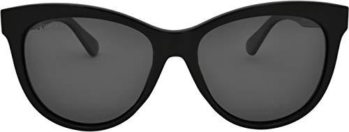 SQUAD Clásico Gafas de sol Para mujeres polarizadas, Redonda Estilo minimalista elegante, con Lentes de protectora 100% UV400