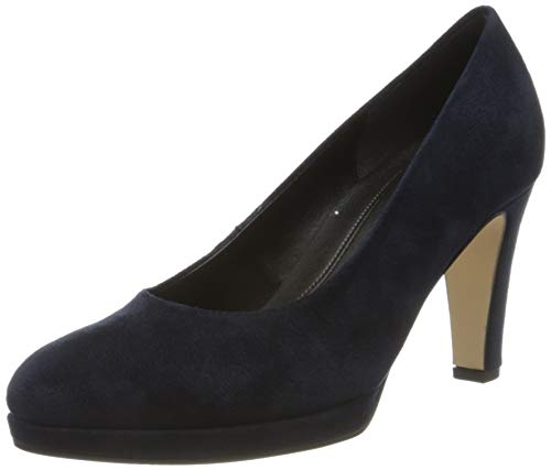 Gabor Shoes Damen Fashion Pumps, Blau (River 46), 41 EU