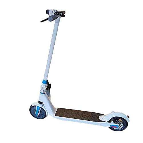FEIFEImop Scooter Eléctrico Plegable, Transmisión Automática De 35 Velocidades, Anti-patín Fuerte, Neumáticos...