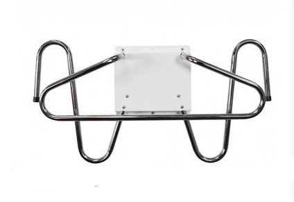 Wall Mounted Chrome X-Ray Apron and Glove Holder, Ships Within 3 Days!
