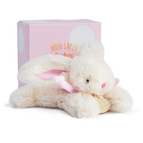 Doudou et Compagnie - Peluche de Conejo (16 cm), Color Rosa