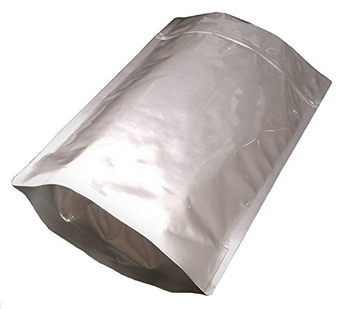 Why Choose Pleasant Grove Farm 7 Mil Zip Lock Mylar Bags Stand Up Pouch Gusseted Pouch in Multiple S...