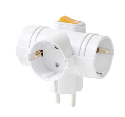 Mehrfachsteckdosen 3 Steckdosen Kabellose Steckdose mit Schalter für Auslöse- und Speicherplatz 3500W (1)