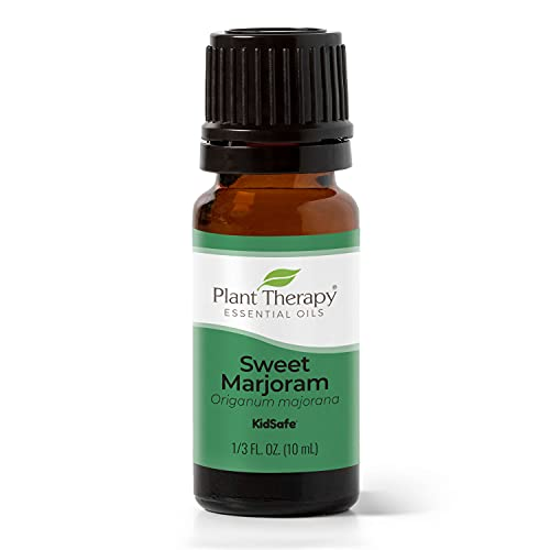 Plant Therapy Marjoram Sweet Essential Oil | 100% Pure, Undiluted, Natural Aromatherapy, Therapeutic Grade | 10 Milliliter (1/3 Ounce)
