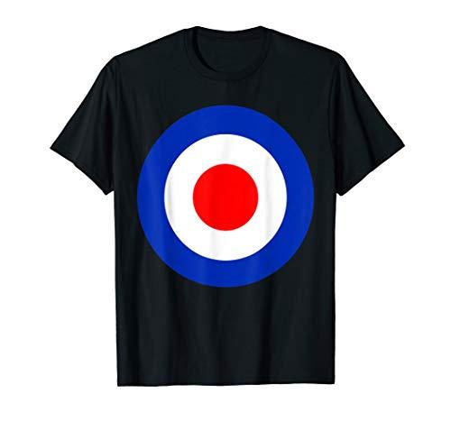 Mod Target Pop Art Classic Scooter 60s T-Shirt