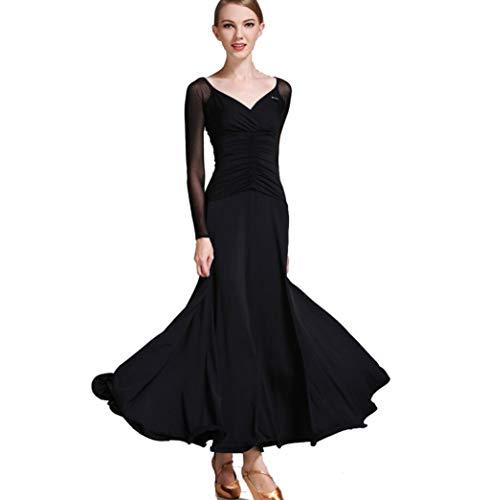 ZYLL Vestido de salón de Baile Vestidos de vals de salón de...