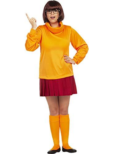 Funidelia   Disfraz de Vilma - Scooby Doo Oficial para Mujer Talla S Scooby Doo, Dibujos Animados