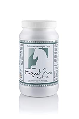 EquiMove Motion - Ergänzungsfuttermittel (1,5 kg) für Gelenke, Sehnen und Synovia deines Pferdes. Mit GLME, Hyaluronsäure, MSM, Glucosamin und mehr.